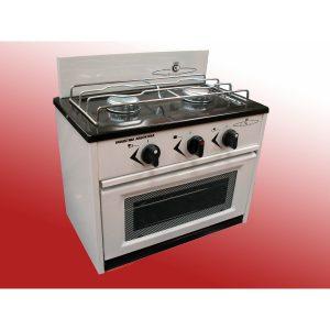 Mini cocina anafe 2 dos hornallas con horno gas envasado - Cocina gas natural con horno ...